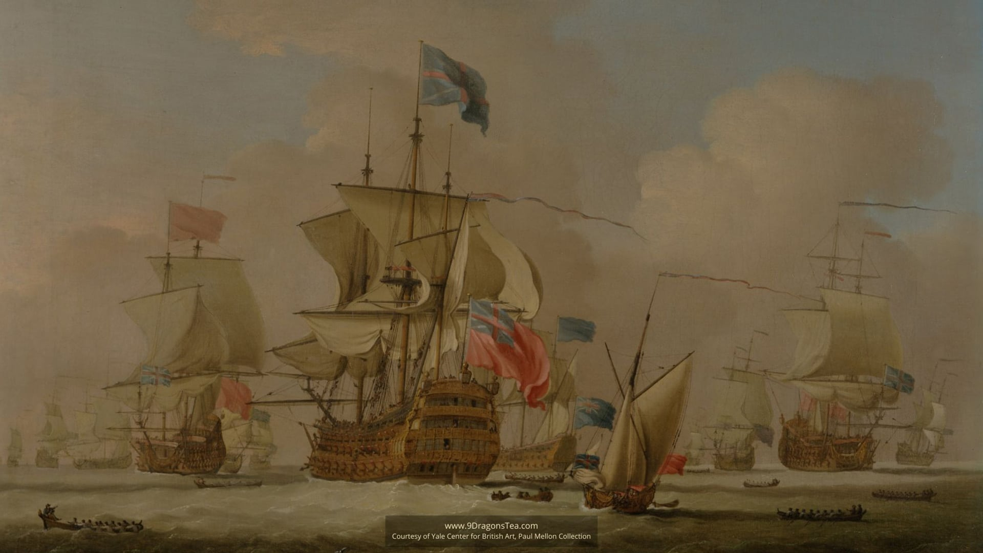 featured image chinese tea history historical image How Tea Came to England british ships