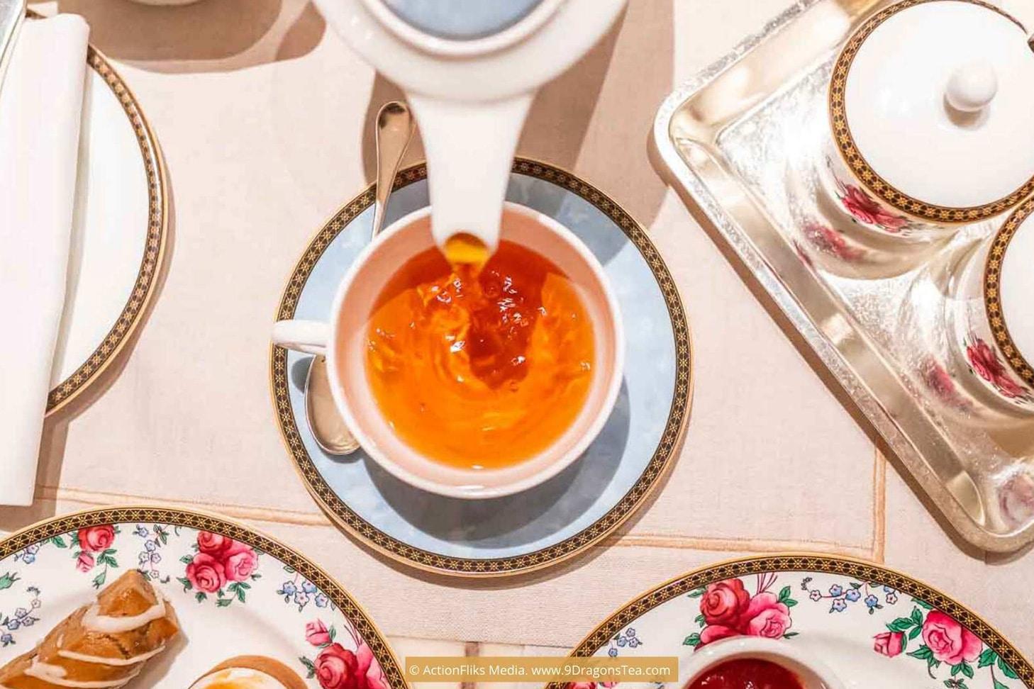 a cup of tea afternoon tea service
