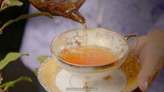 a-cup-of-tea-European-tea-cup-glass-teapot-tea-pouring-into-cup