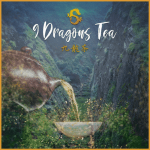 9 dragons tea - dragon gulch poster-featured image