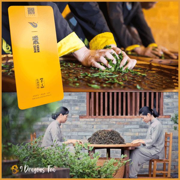 Oolong tea - supreme rui guay - cinnamon -kun jian tea - by old daddy rui chuan - 01