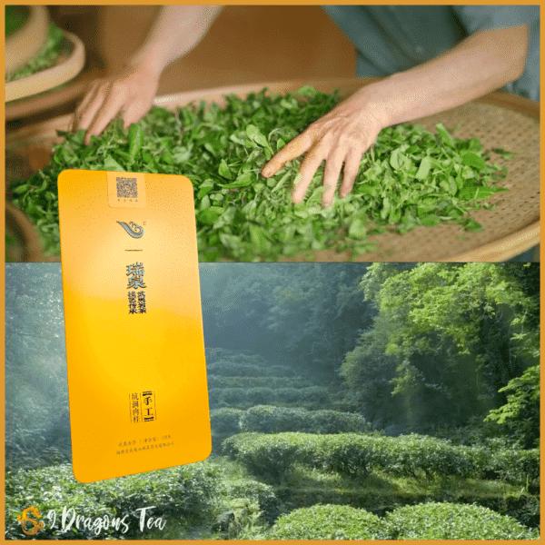 Oolong tea - supreme rui guay - cinnamon -kun jian tea - by old daddy rui chuan - 02