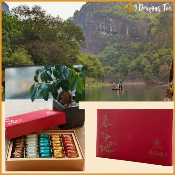 Premium Da Hong Pao - by Land of second spring - gift pack-feature image