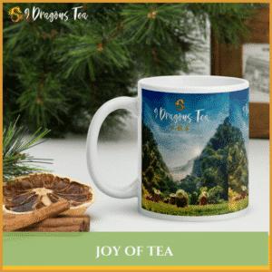 9 dragons tea - tea field mug featured image