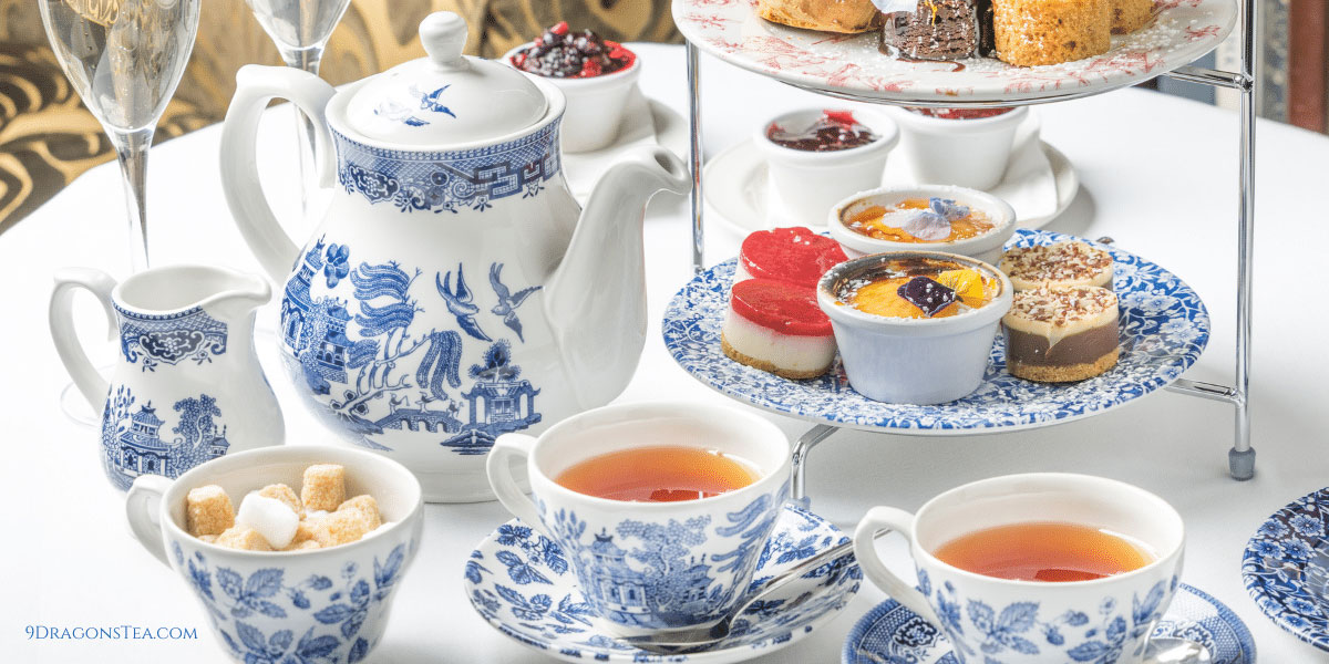 Holiday afternoon tea party