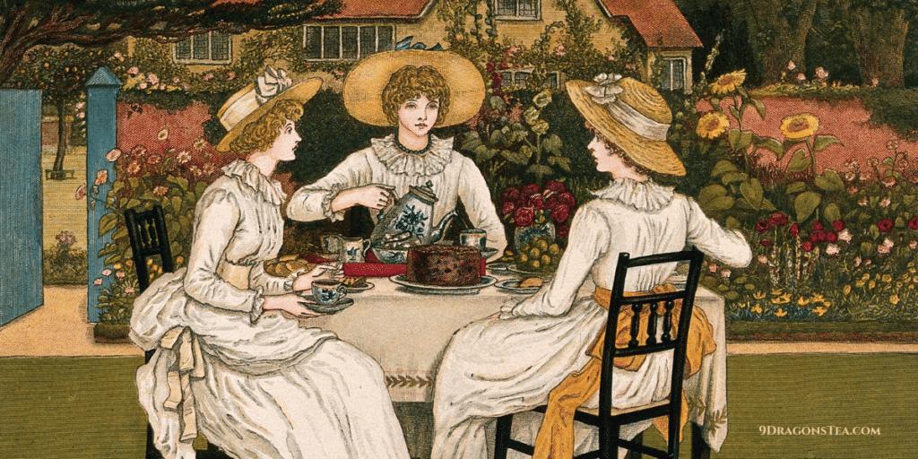 British Tea Time Fashion