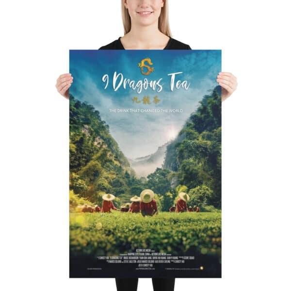 9 dragons tea - tea field poster 02