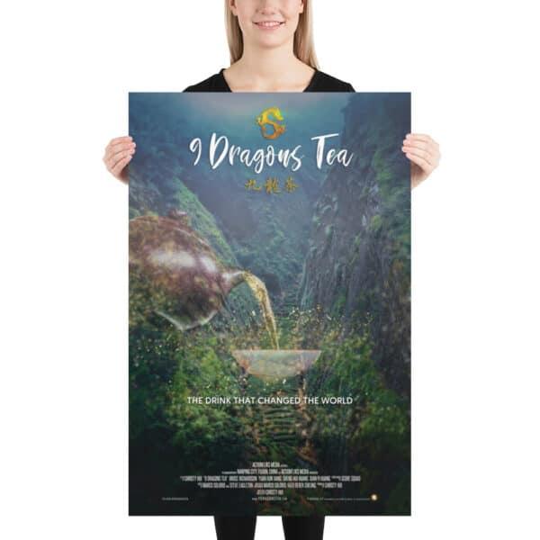 9 dragons tea dragon gulch poster - 02