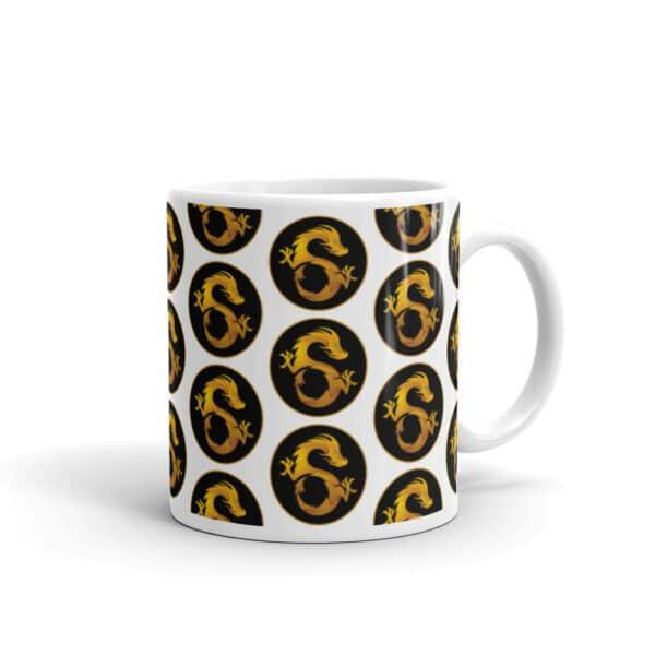 dragon mug front view