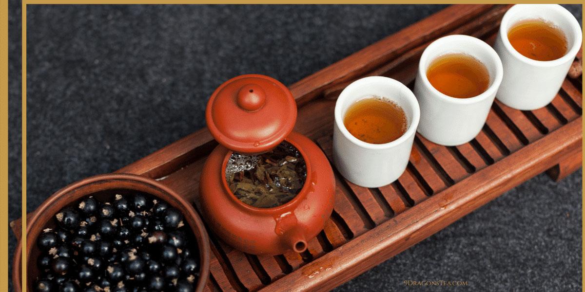 9 dragons tea-Da Hong Pao-oolong tea