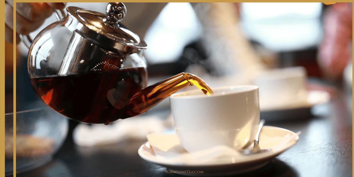 9 dragons tea-Lapsang Souchong Black tea