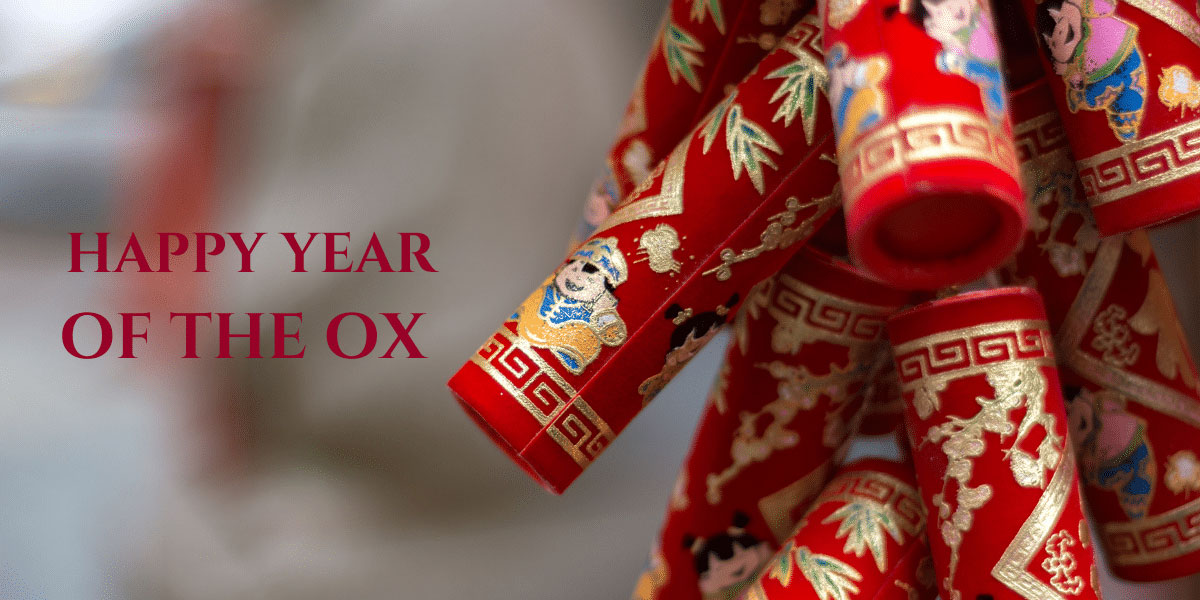 9 Dragons Tea-Chinese New Year-Fireworks Happy Year of the Ox