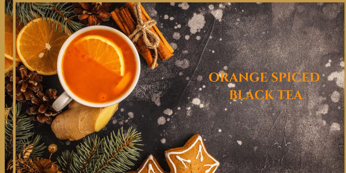 9 dragons tea-orange spiced tea