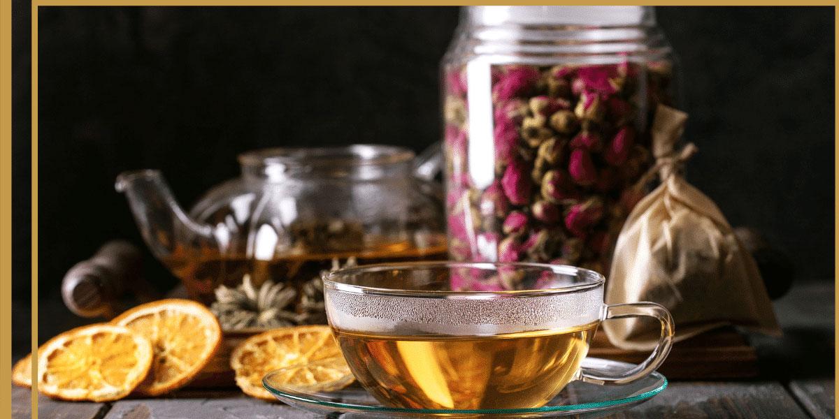 9 dragons tea-rose tea-herbal