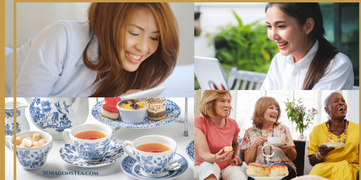 how to host your virtual tea party