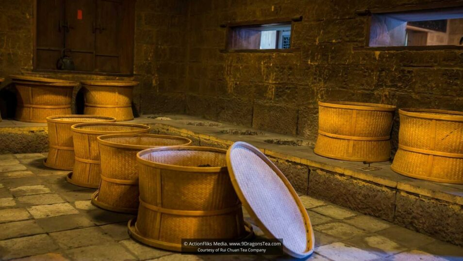 traditional chinese tea making Bamboo Trays Is Art